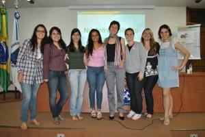 As incansáveis - Equipe organizadora do evento - NUDI/11.