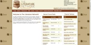 The Literature Network: para ler e conversar com quem leu. Tem coisa melhor?