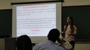 Patrícia expõe sobre a autodeterminação informativa do usuário-consumidor.