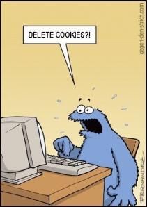 Cookies da Internet: retêm os seus passos, ocupam espaço... e não têm gotas de chocolate.