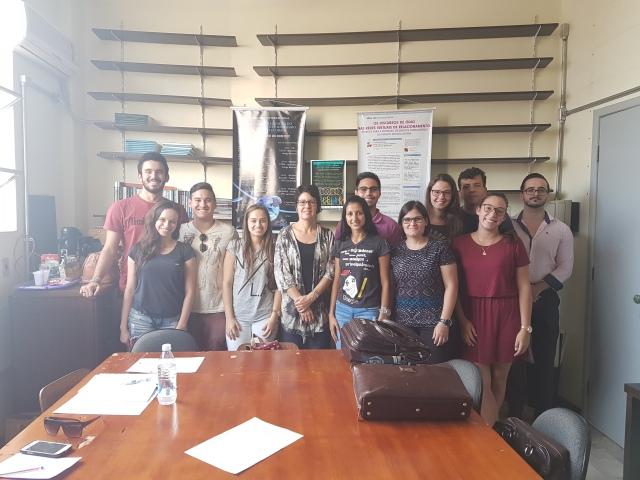 Novos integrantes do NUDI em 2017