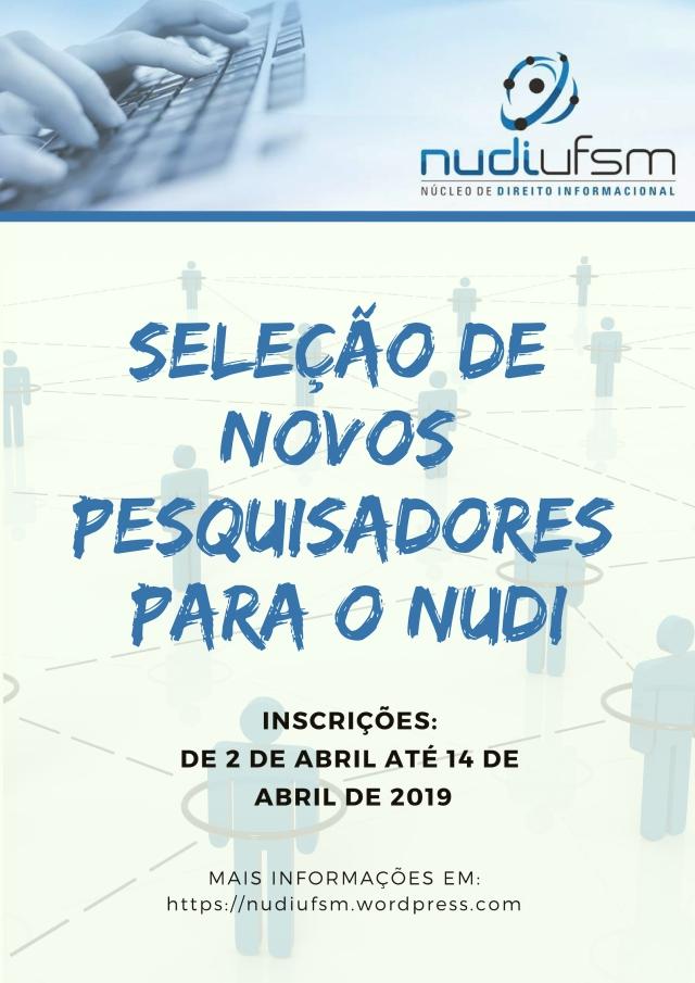 seleção novos pesquisadores do nudi (2)